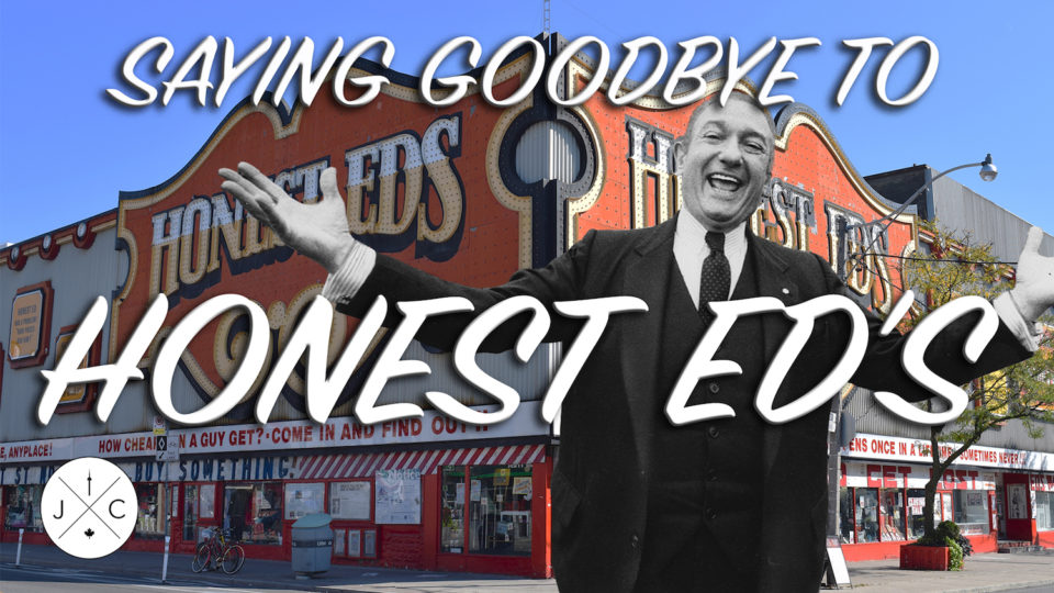 Honest Ed's Final Bow