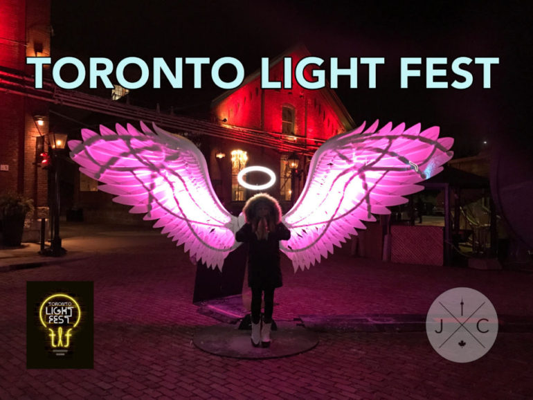 Toronto Light Festival – Distillery District